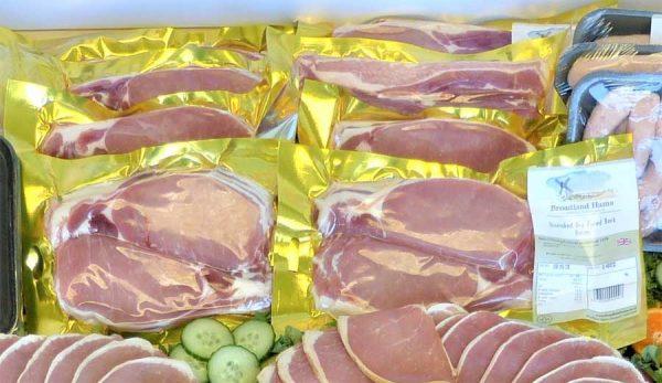 Traditional Ham, Bacon & Sausage Hamper