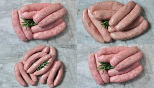 British Sausages and Chipolatas