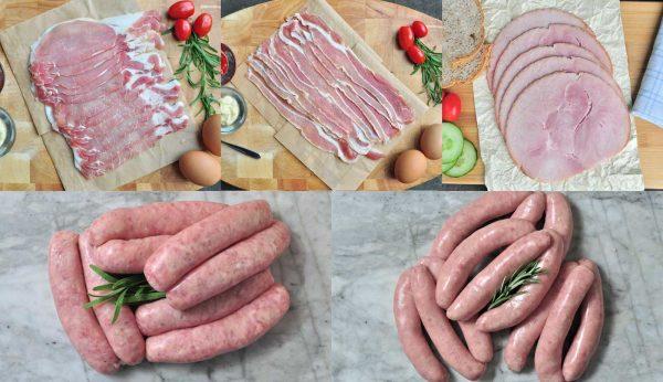 Smoked Ham, Bacon & Sausage Hamper