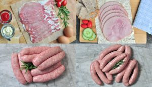 Smoked Ham, Bacon & Sausage Hamper